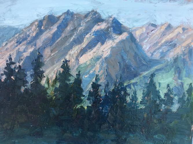 A recent painting from Jineen Griffith